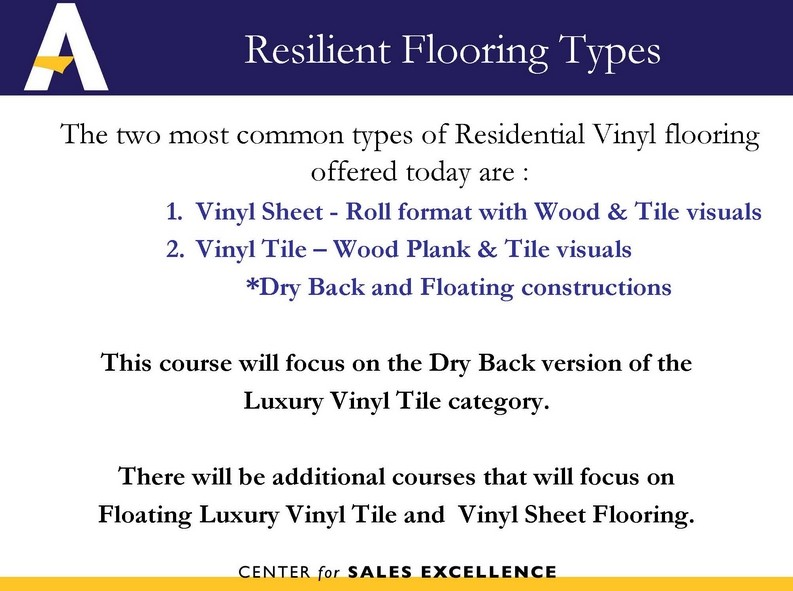 Resilient Dry Back LVT Installation Overview Page 18